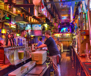 Best Sports Bars in America: The Salty Dog Saloon, Gainesville, FL