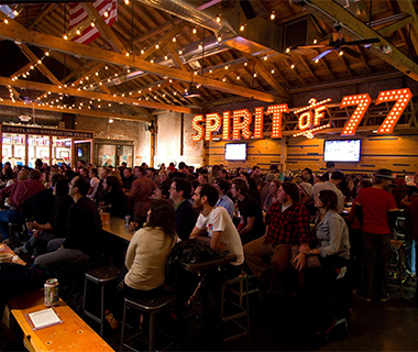 Best Sports Bars in America: Spirit of '77, Portland, OR