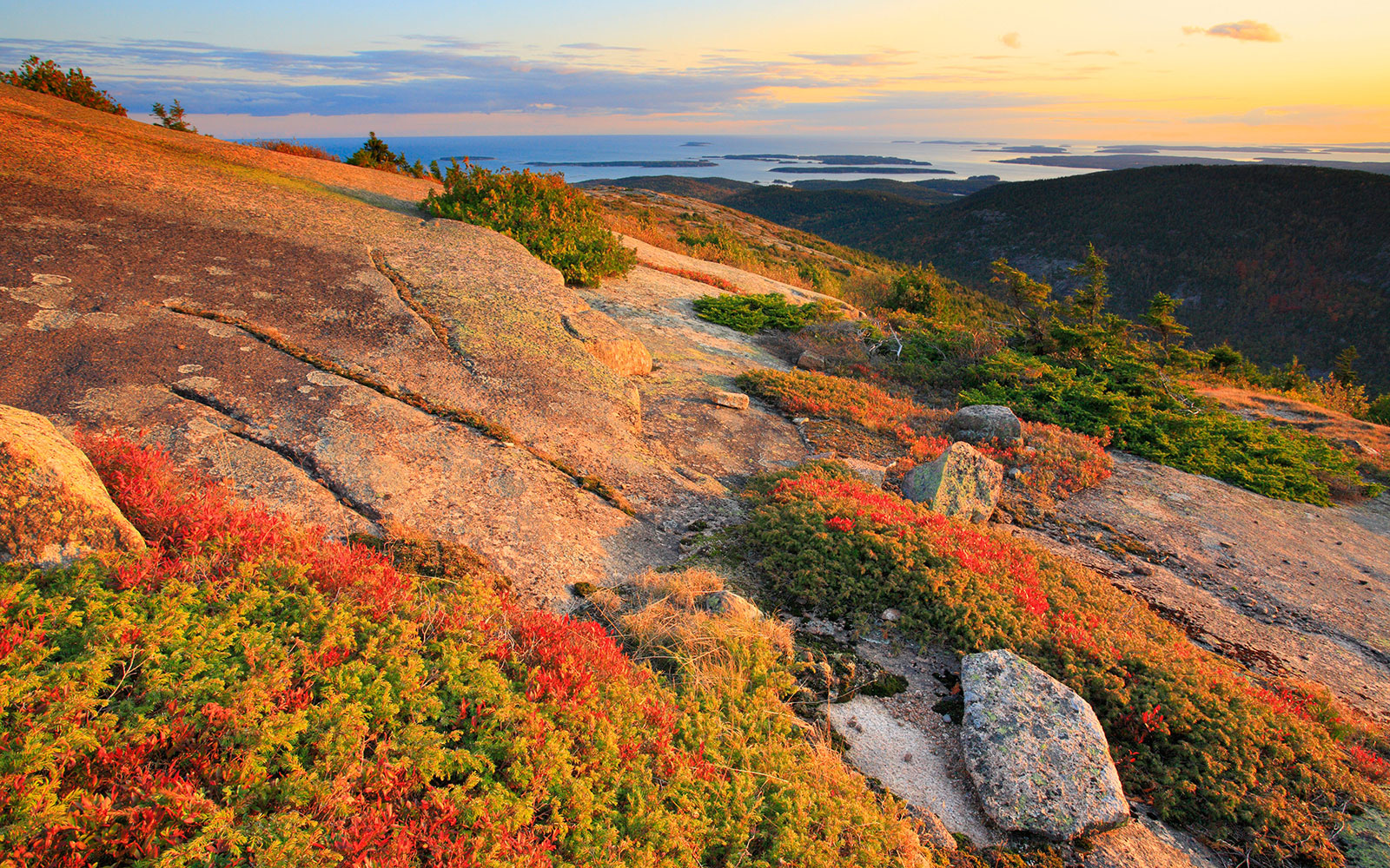 Most Romantic Fall Getaways: Acadia National Park, ME