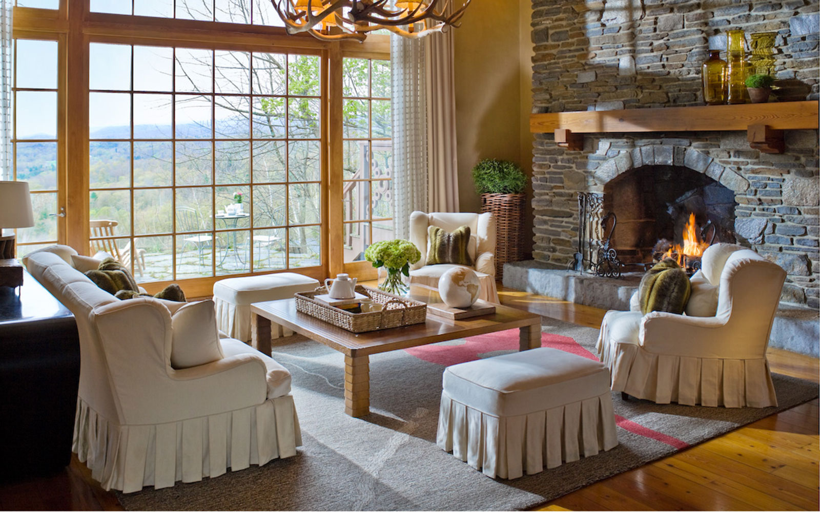 Most Romantic Fall Getaways: Twin Farms
