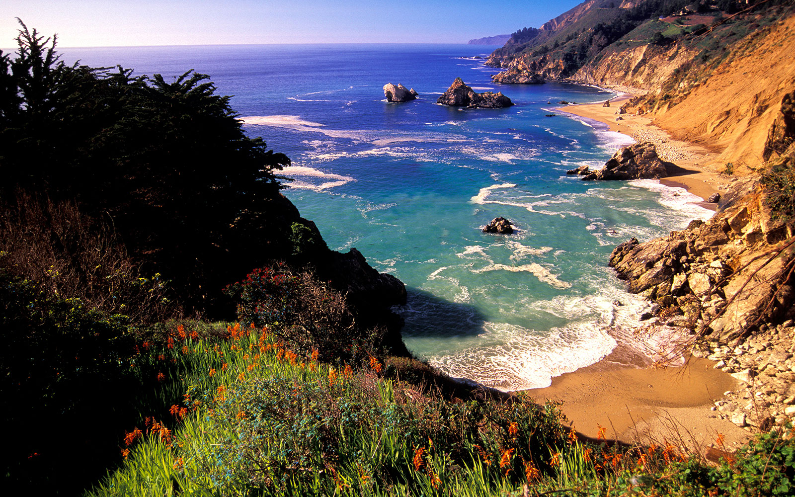Most Romantic Fall Getaways: Big Sur, CA