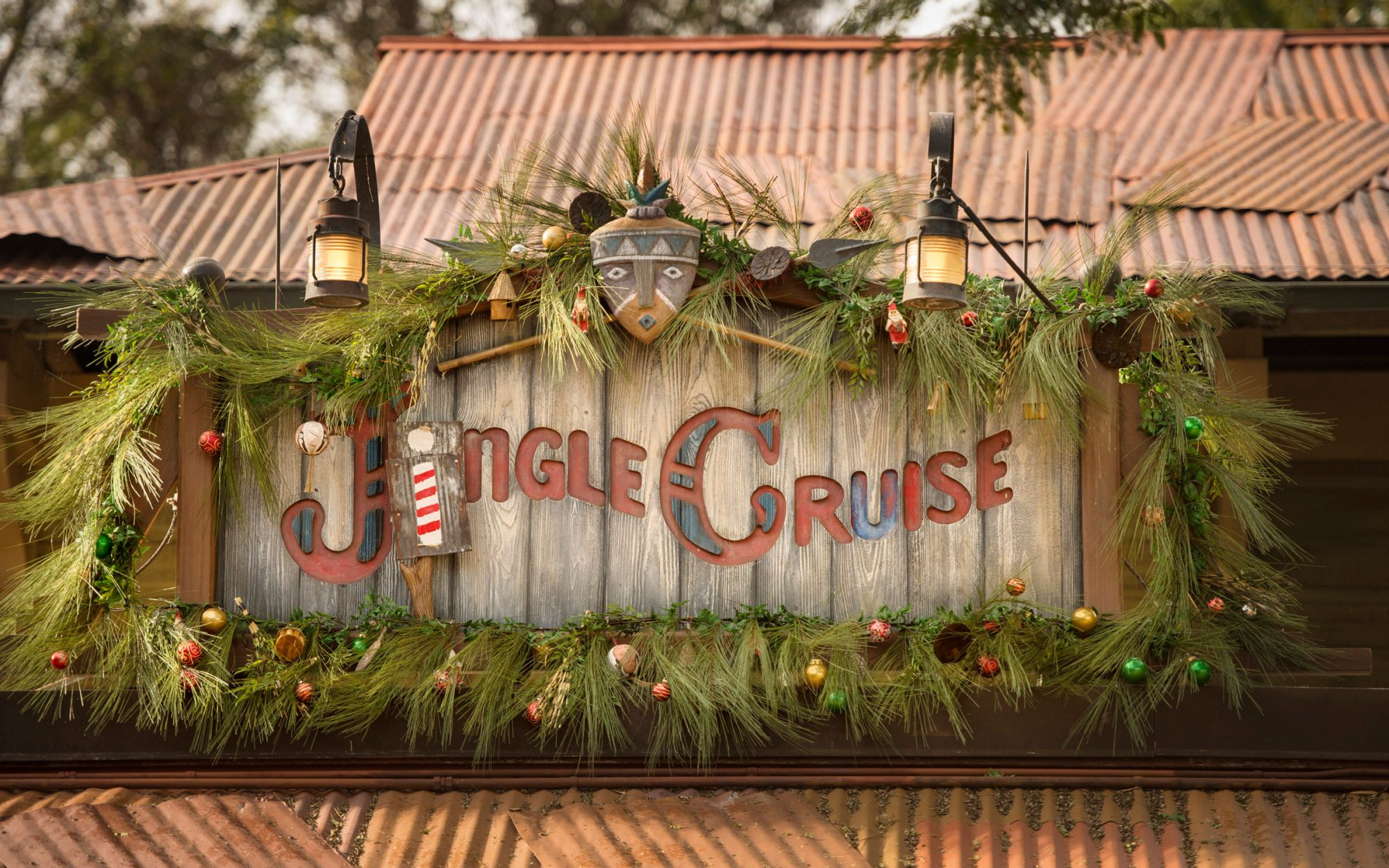 Ride the Jingle Cruise at the Magic Kingdom