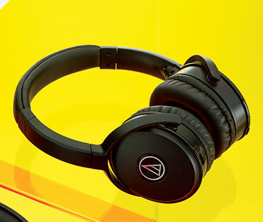 Best Overall Headphone: Audio-Technica ATH-ANC29 QuietPoint Noise-Cancelling Headphones