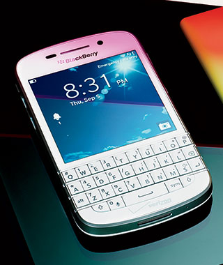 Travel Gadgets: BlackBerry Q10