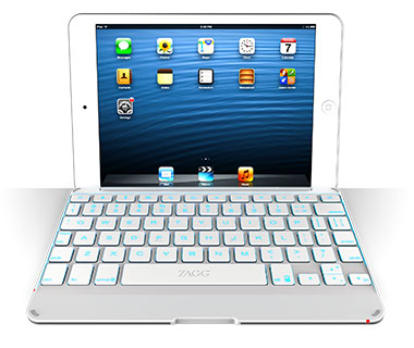 Travel Gadgets: ZAGGkeys Cover for iPad Mini