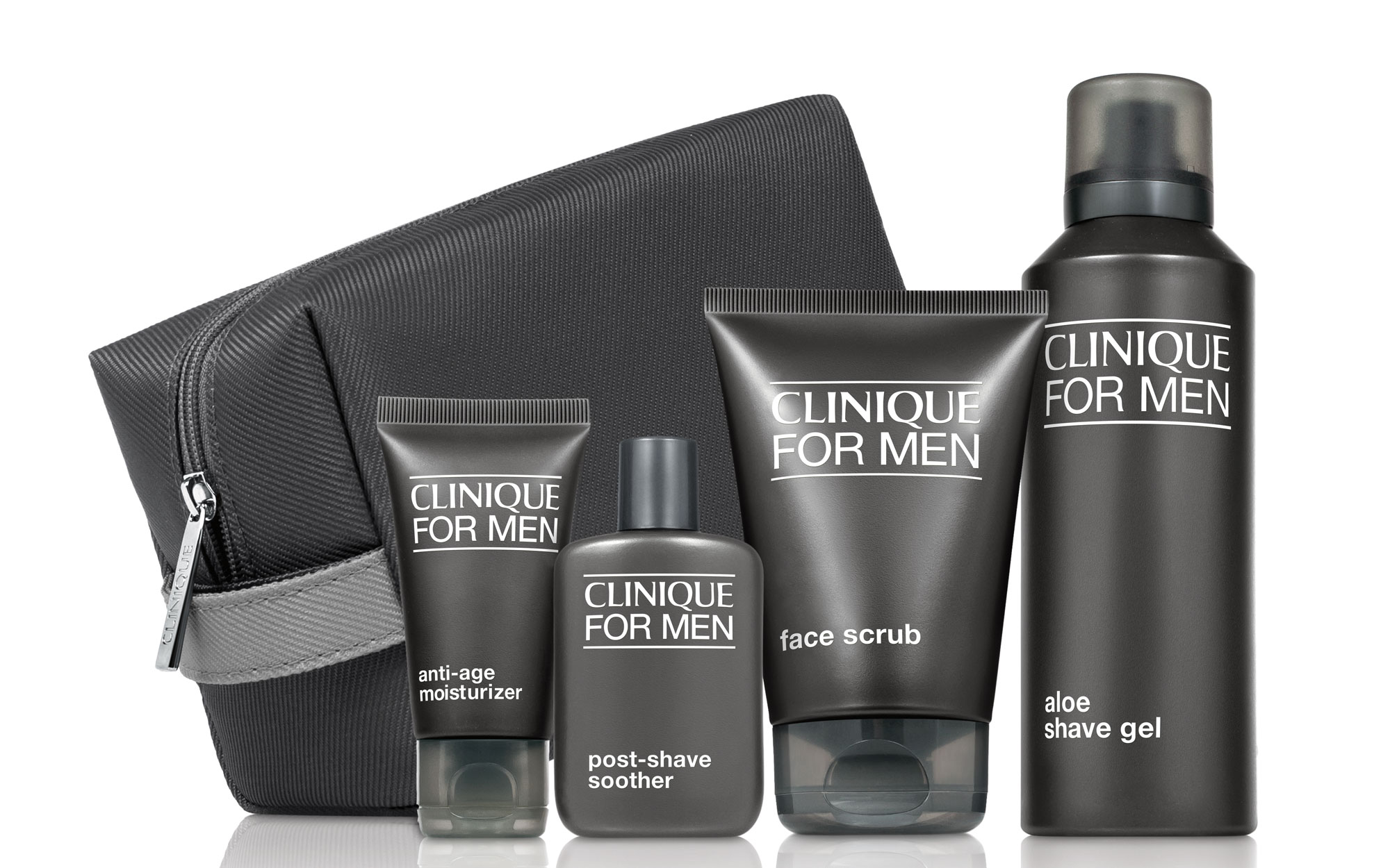 Best Beauty Gifts for Travelers: Clinique for Men Gift Set