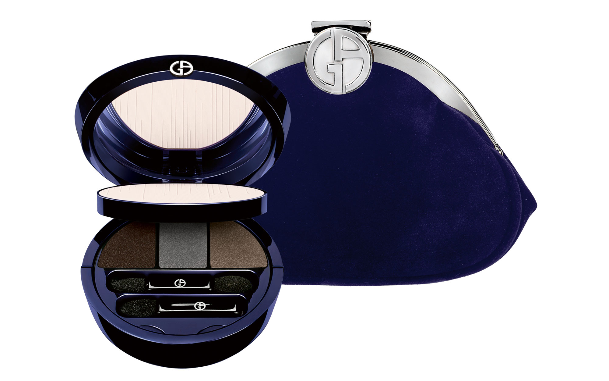 Best Beauty Gifts for Travelers: Giorgio Armani 2014 Holiday Palette and Clutch