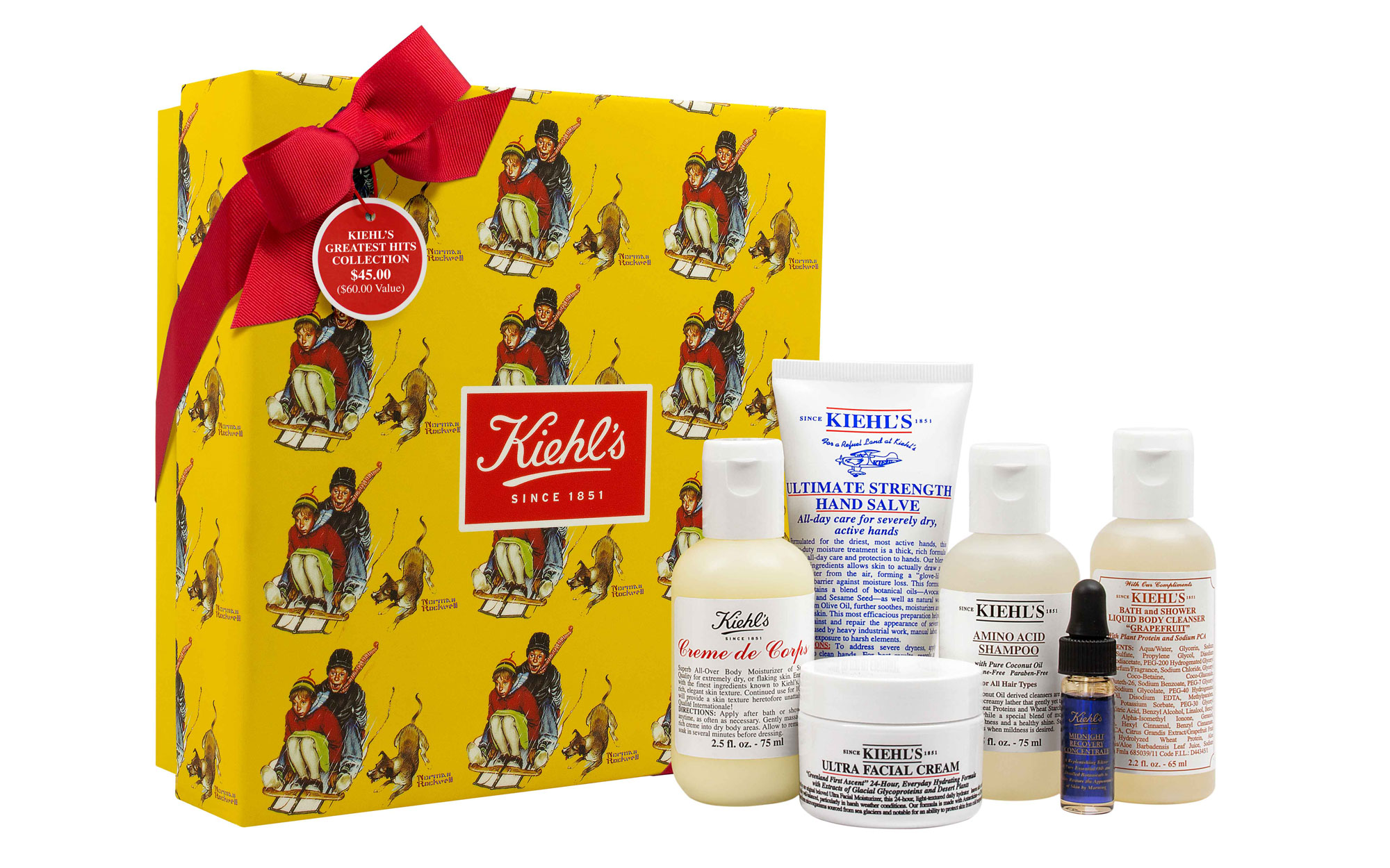 Best Beauty Gifts for Travelers: Kiehl's Greatest Hits Collection
