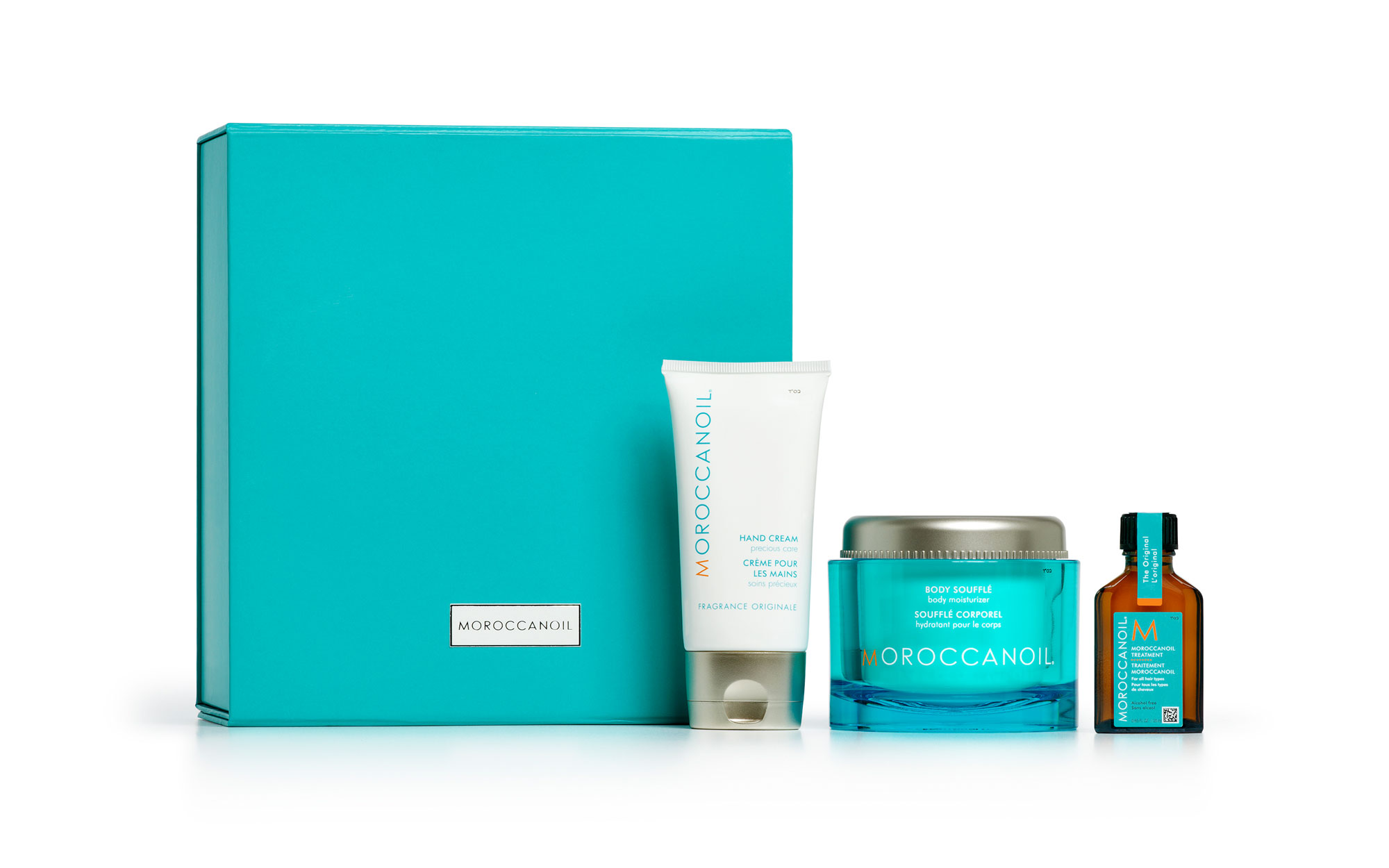 Best Beauty Gifts for Travelers: Moroccanoil Fragrance Originale Gift Set