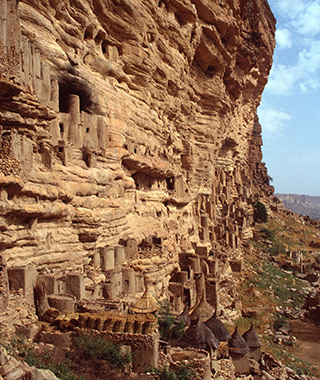 World's Most Amazing Cliffs: Bandiagara Escarpment, Mali