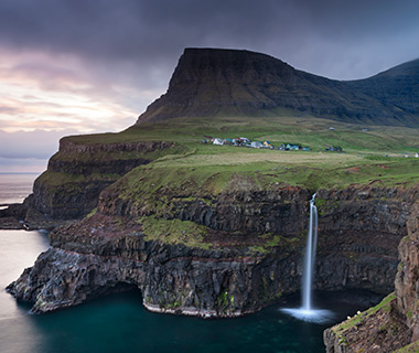 Cliffs of Eysturoy, Faroe Islands