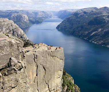 World's Most Amazing Cliffs: Preikestolen, Norway