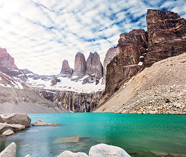 World's Most Amazing Cliffs: Torres del Paine, Chile