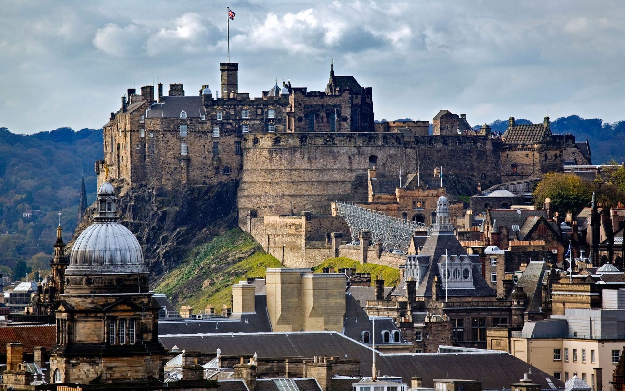 World's Most-Visited Castles: No. 17 Edinburgh Castle