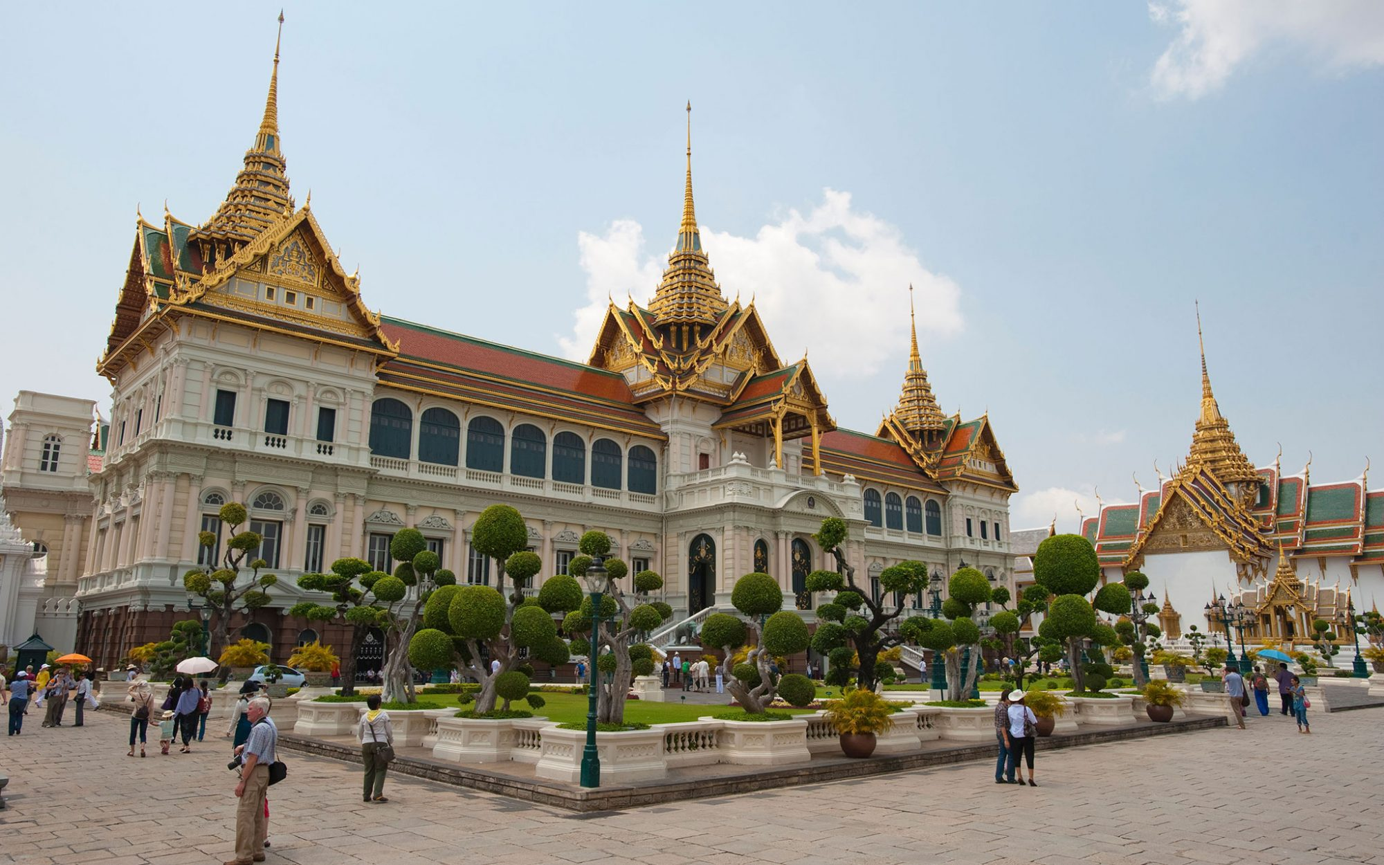 World's Most-Visited Castles: No. 3 Grand Palace, Bangkok