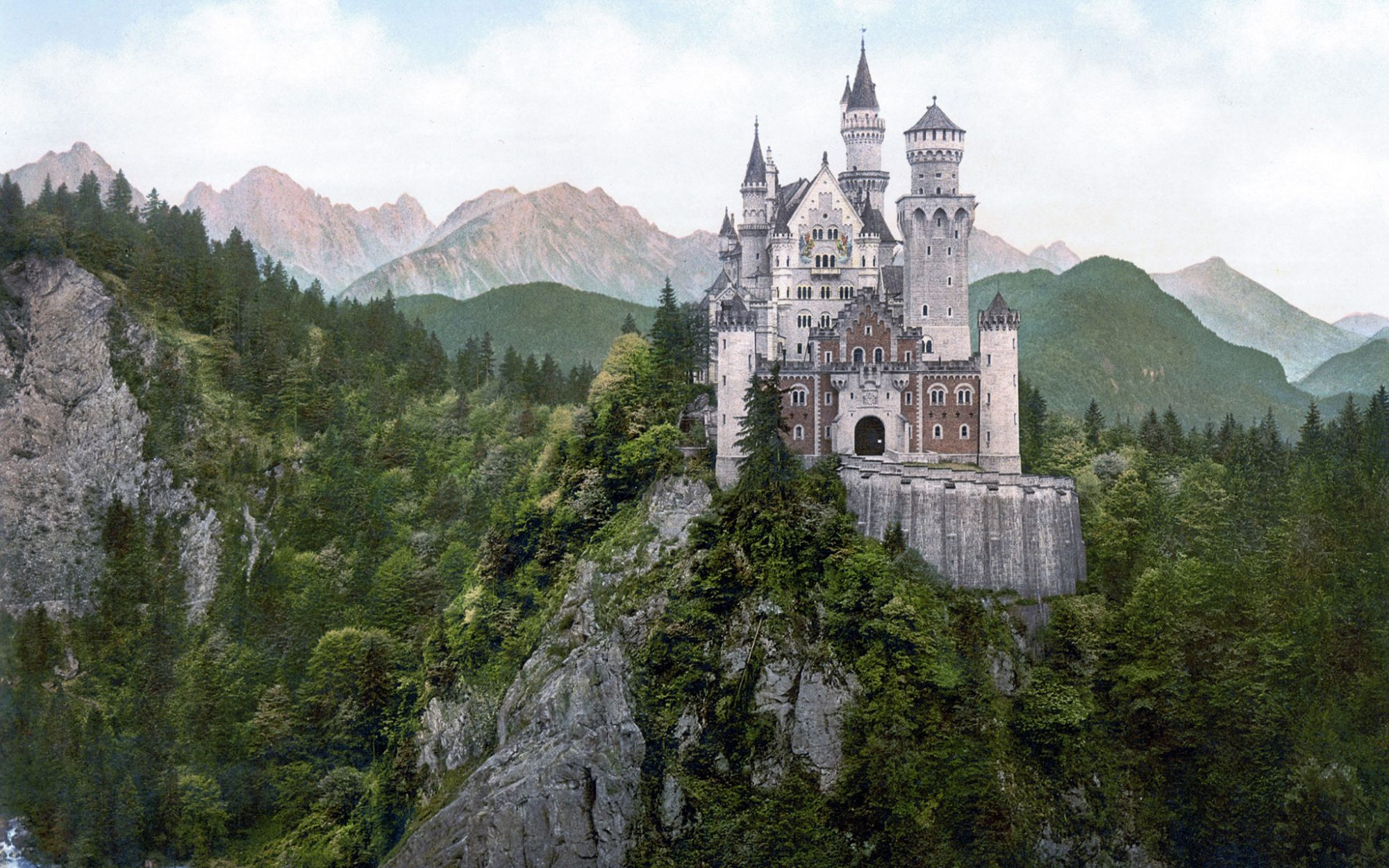 World's Most-Visited Castles: No. 13 Neuschwanstein Castle, Bavaria, Germany