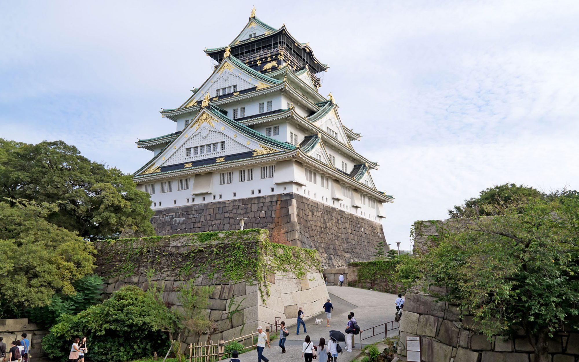World's Most-Visited Castles: No. 14 Osaka Castle, Japan