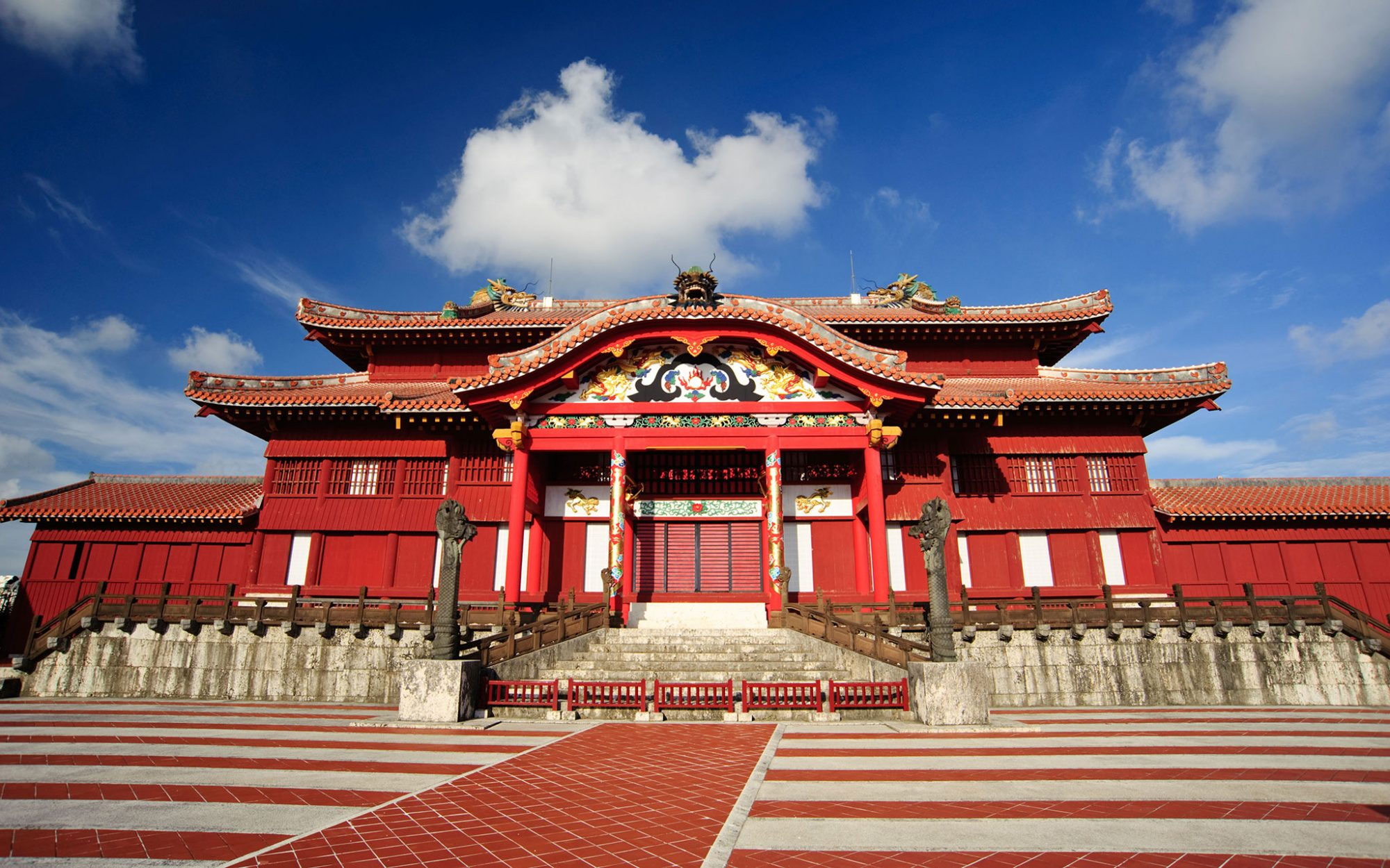 World's Most-Visited Castles: No. 10 Shuri Castle, Okinawa, Japan