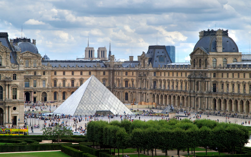 World's Most-Visited Castles: No. 2 The Louvre, Paris