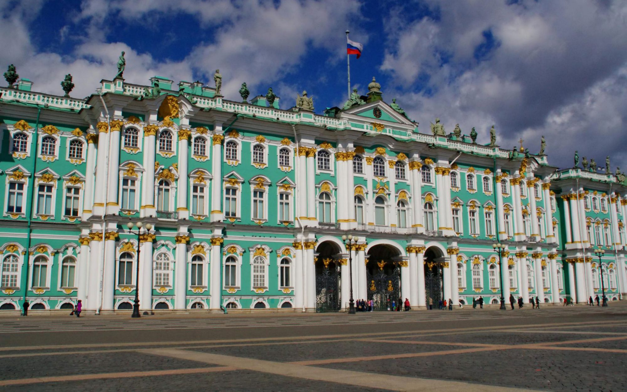 World's Most-Visited Castles: No. 6 The Winter Palace (State Hermitage Museum), St. Petersburg, Russia