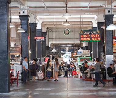 America's Best Food Halls: Grand Central Market, Los Angeles