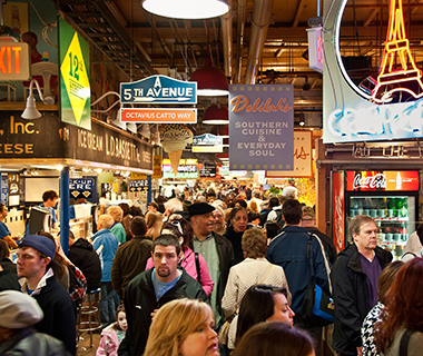 America's Best Food Halls: Reading Terminal Market, Philadelphia