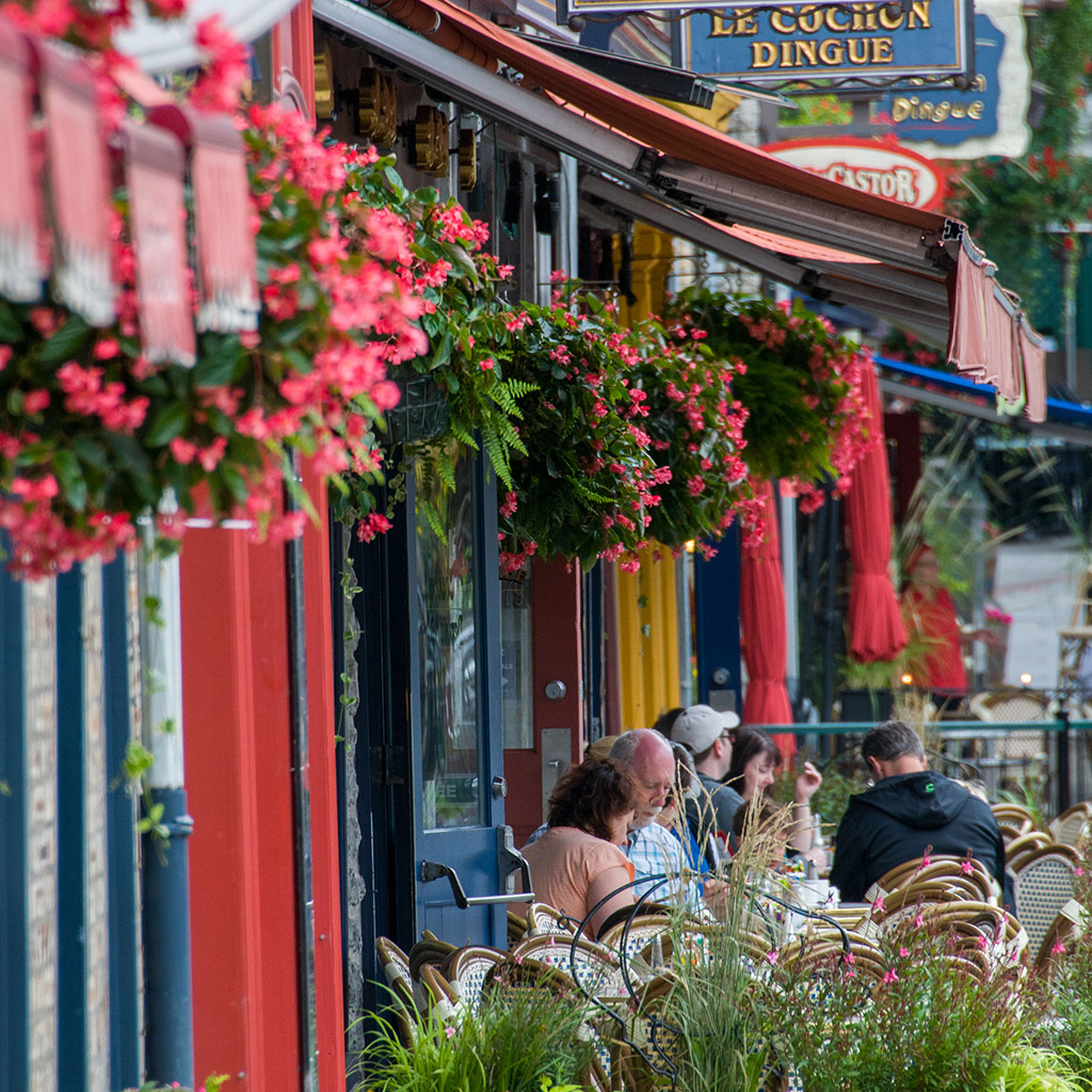 Best Places for Outdoor Dining in Quebec City