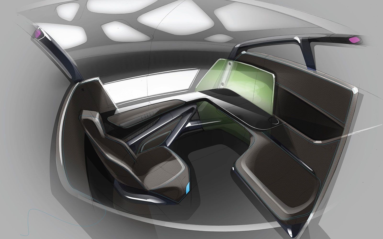 15 Craziest Airplane Cabins of the Future: Premium Seat Concept – by JPA Design