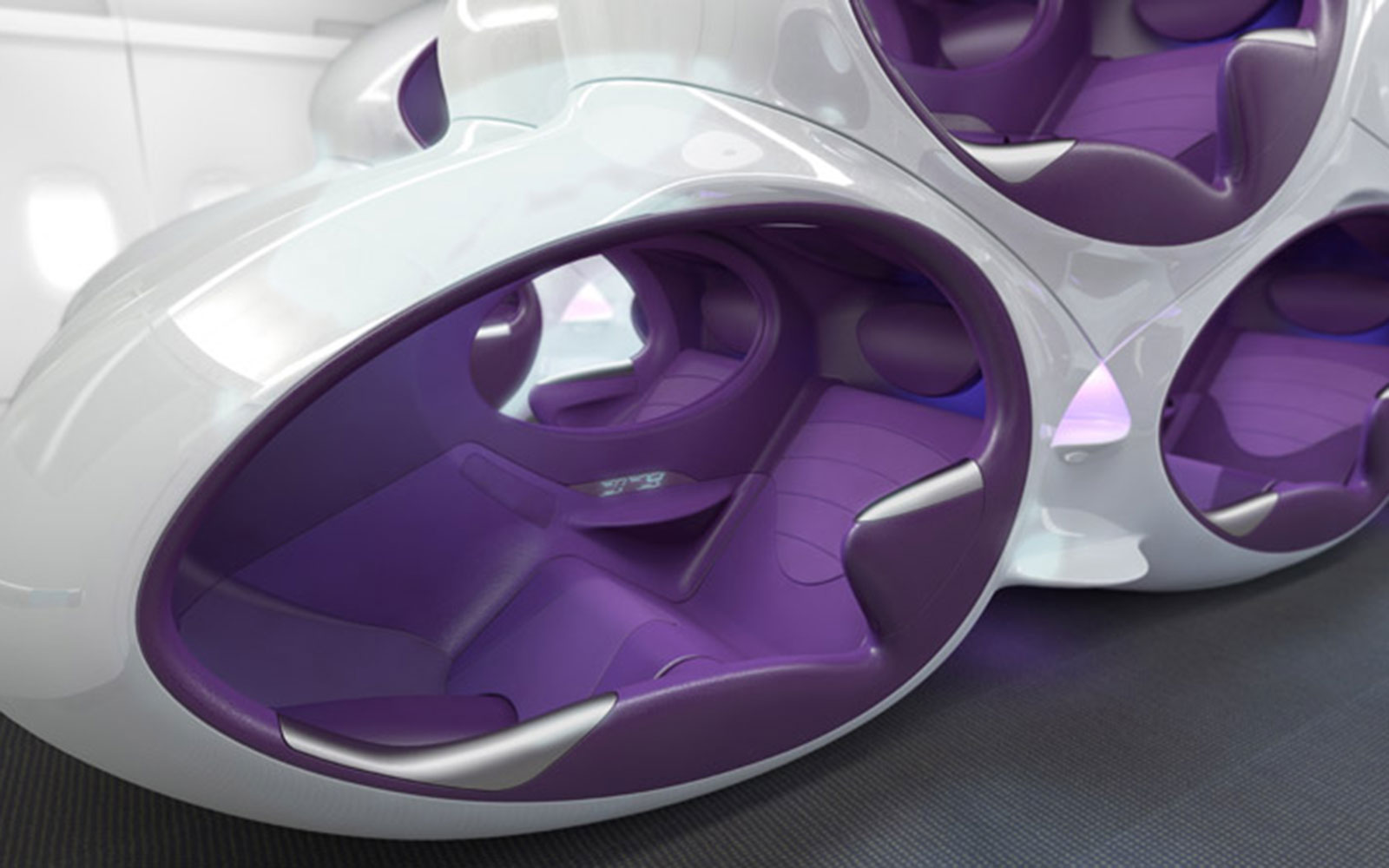 15 Craziest Airplane Cabins of the Future: The Air Lair Seat – by Factorydesign