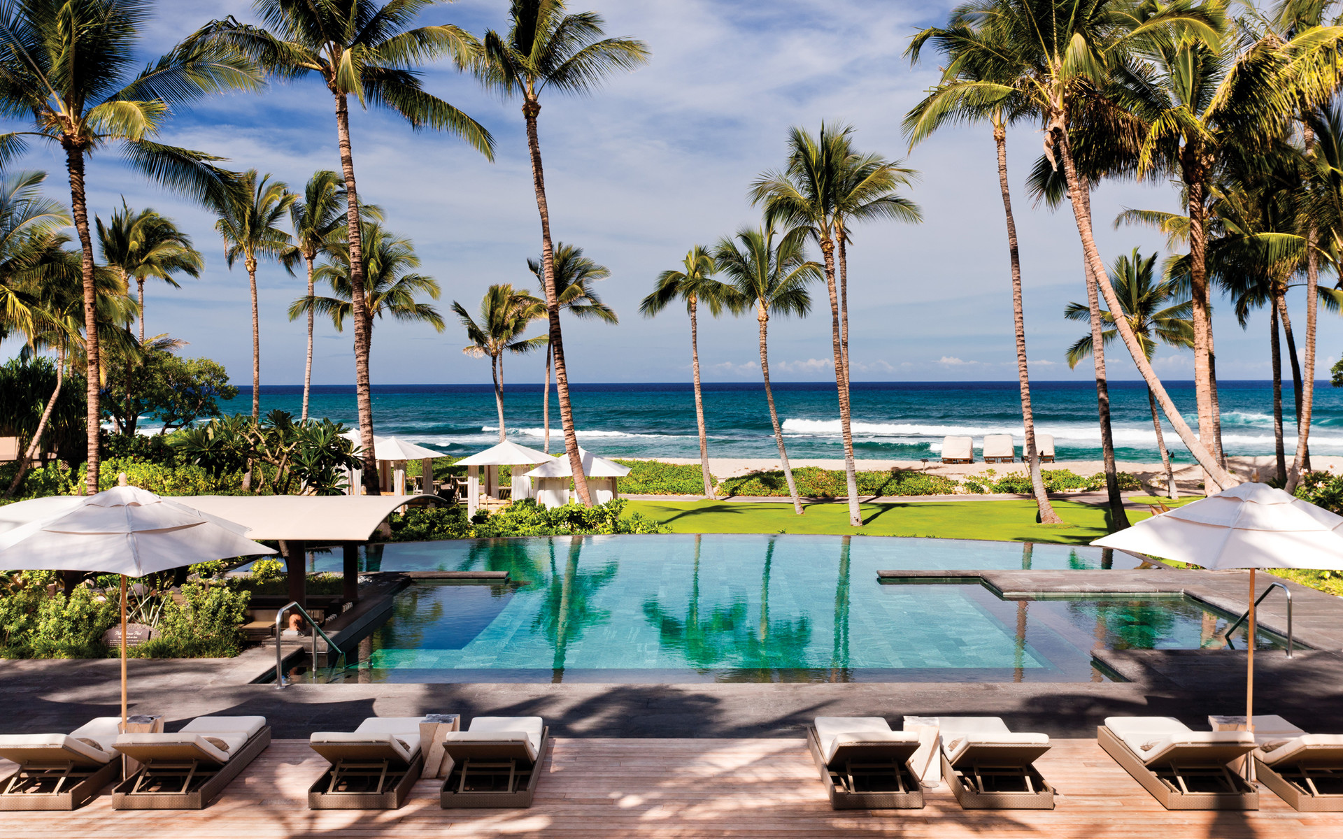 Best Family Beach Hotels: No. 5 (tie) Four Seasons Resort Hualalai, HI