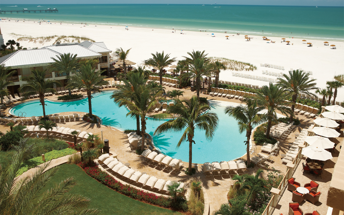 Best Family Beach Hotels: No. 10 (tie) Sandpearl Resort, Clearwater Beach, FL