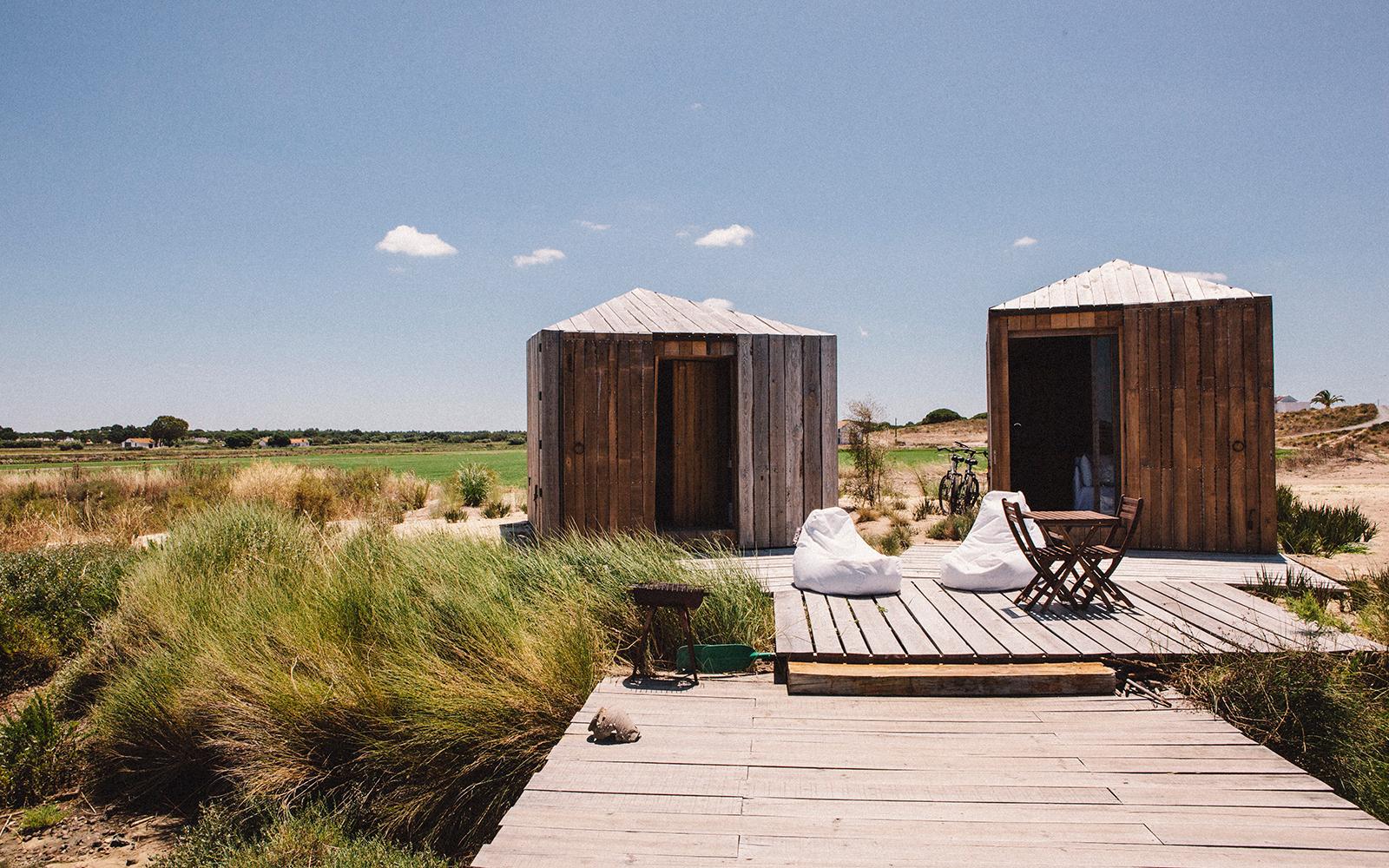 New Boutique Hotels in Portugal: Cabanas no Rio, Comporta