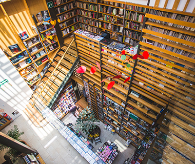 World's Coolest Bookstores: Cafebrería El Péndulo, Mexico City