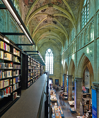 World's Coolest Bookstores: Dominicanen Bookstore, Maastricht, Holland