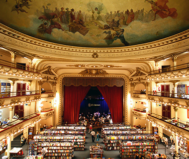 World's Coolest Bookstores: El Ateneo Grand Splendid, Buenos Aires