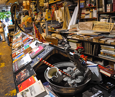 World's Coolest Bookstores: Libreria Acqua Alta, Venice