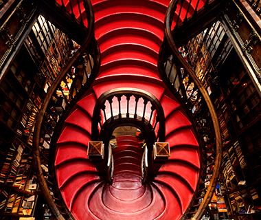 World's Coolest Bookstores: Livraria Lello, Porto, Portugal