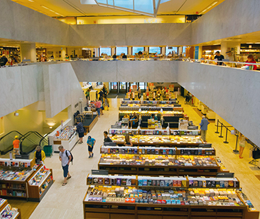 World's Coolest Bookstores: The Academic Bookstore, Helsinki, Finland