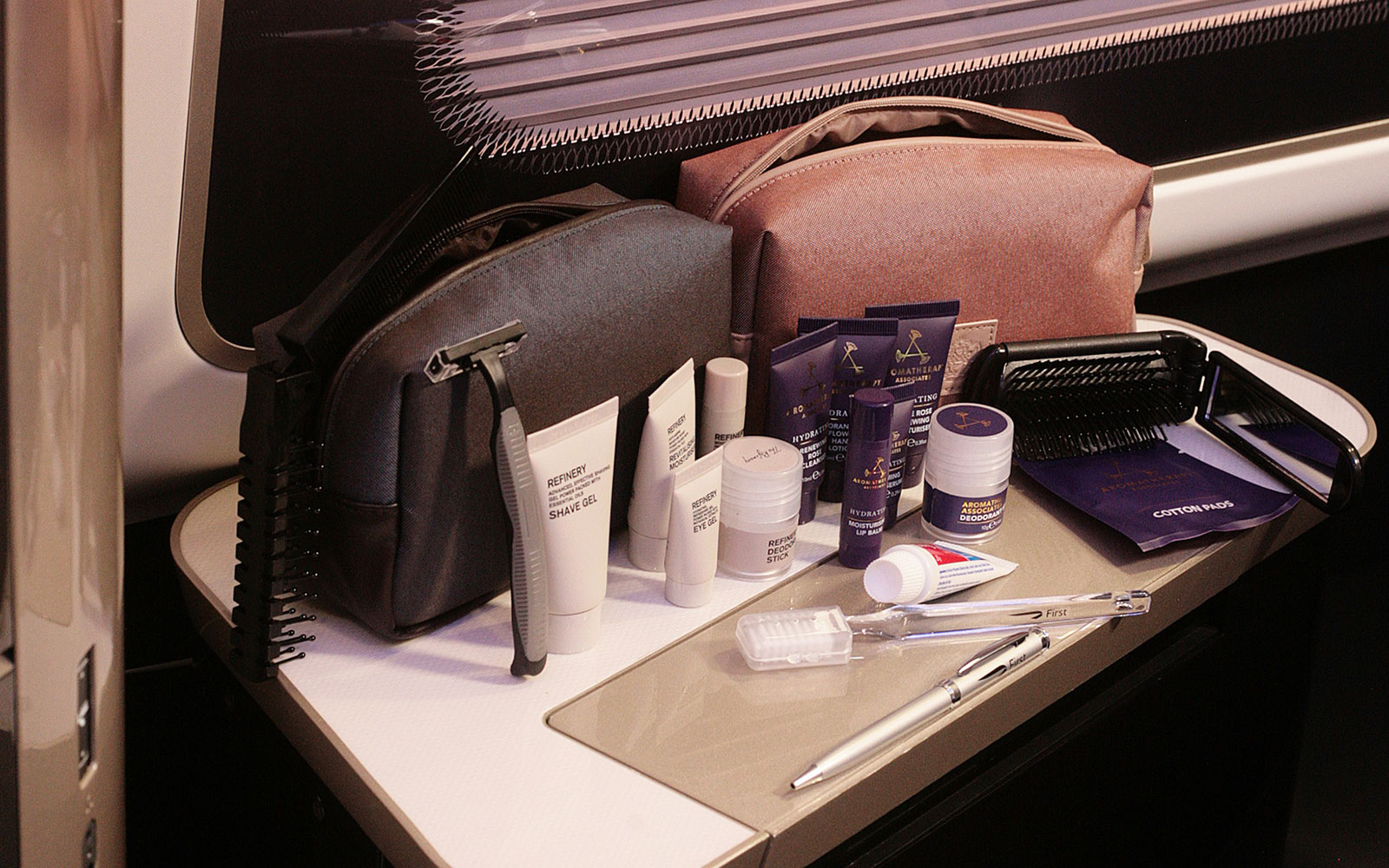 Coolest Airline Amenity Kits: British Airways - Men's and Women's First