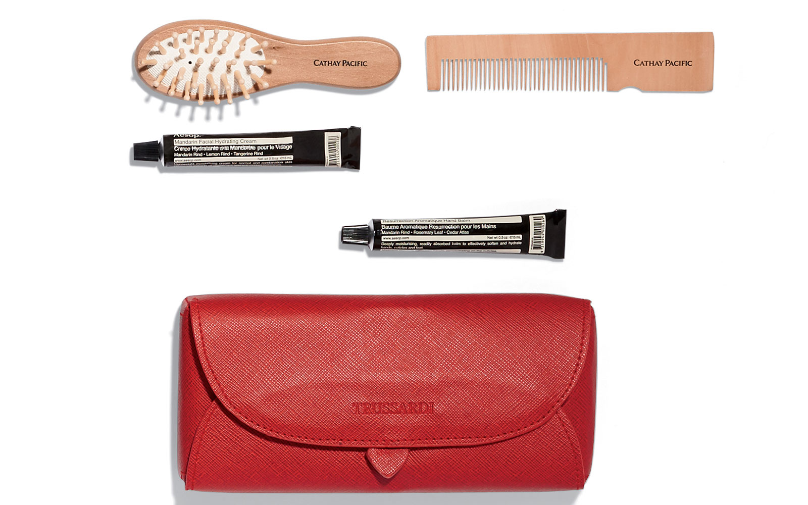 Coolest Airline Amenity Kits: Cathay Pacific - First Class Female Travel Kit
