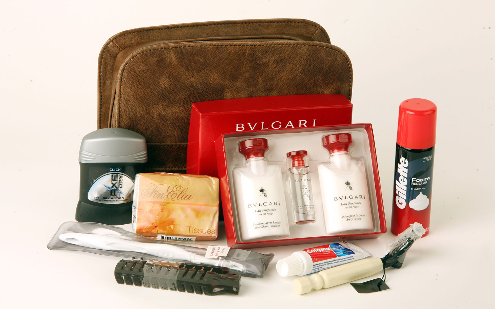 Coolest Airline Amenity Kits: Emirates - First Class Bulgari Amenity Kits