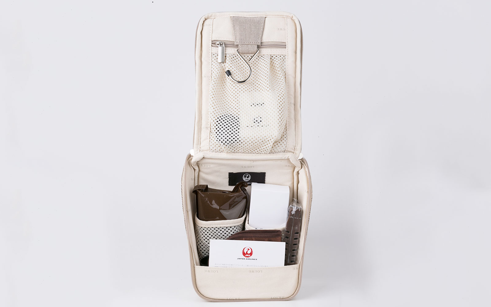 Coolest Airline Amenity Kits: Japan Airlines - First Class Kit
