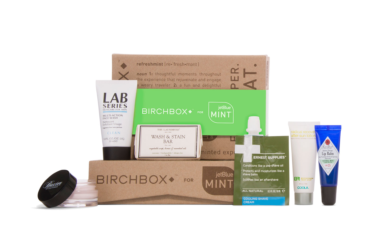 Coolest Airline Amenity Kits: JetBlue - Birchbox for Mint Experience