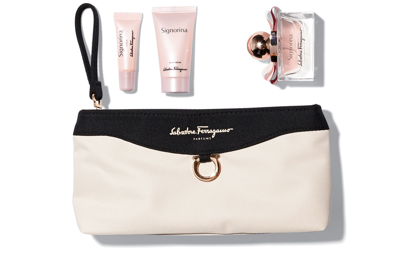 Coolest Airline Amenity Kits: Singapore Airlines - First Class Ferragamo Amenity Kits
