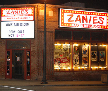 America's Best Comedy Clubs: Zanies
