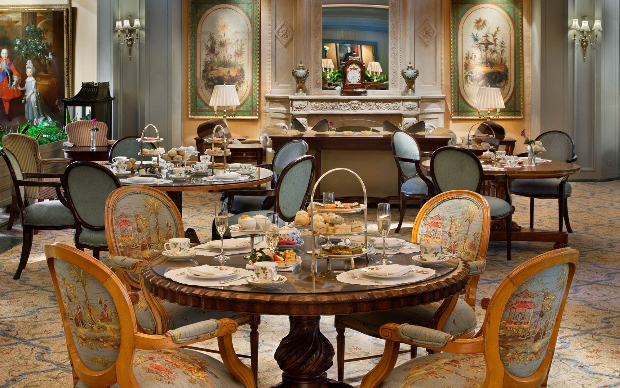 Le Salon, Windsor Court Hotel, New Orleans