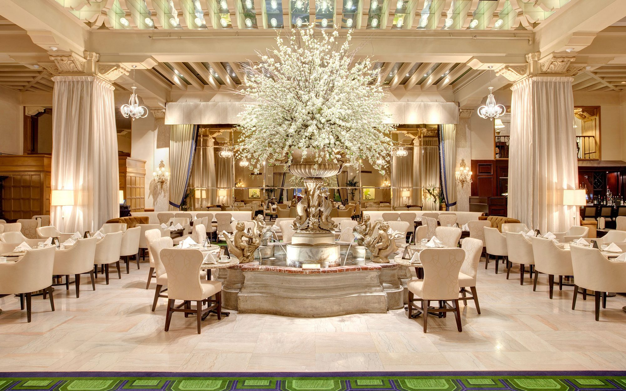 America's Best Tearooms: The Palm Court at the Drake, Chicago