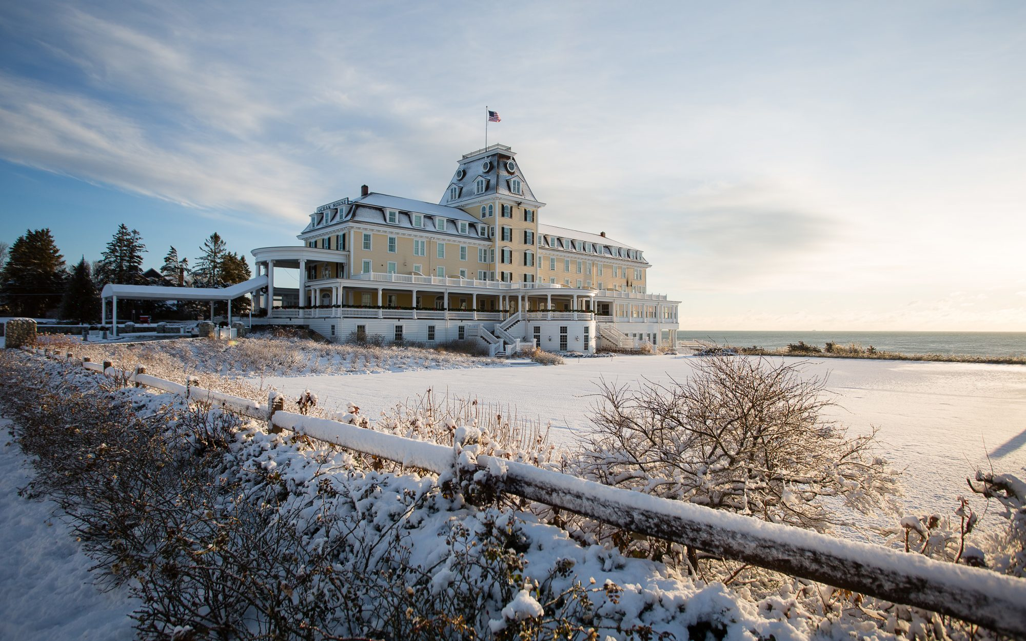 Cool Off-Season Beach Resorts: Ocean House, Watch Hill, RI