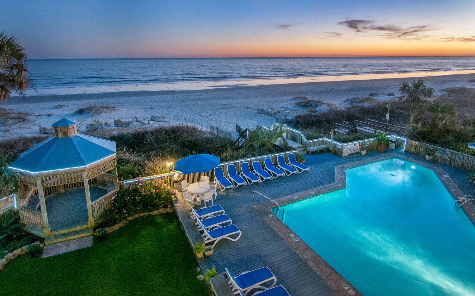 Cool Off-Season Beach Resorts: Ocean Isle Inn, Ocean Isle Beach, NC