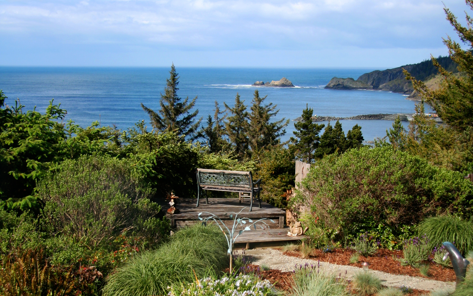 Cool Off-Season Beach Resorts: WildSpring, Port Orford, OR